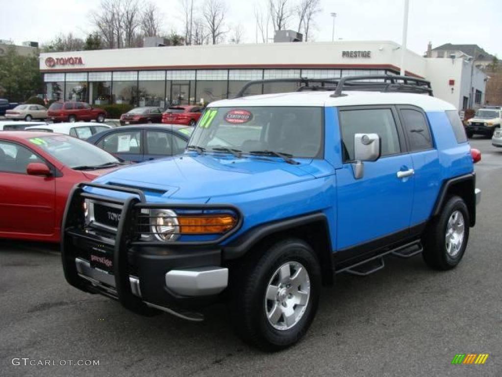 2007 Voodoo Blue Toyota FJ Cruiser 4WD 23451866  GTCarLotcom