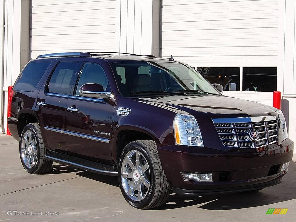 2009 black cherry cadillac escalade awd 23440774 car color galleries. Black Bedroom Furniture Sets. Home Design Ideas