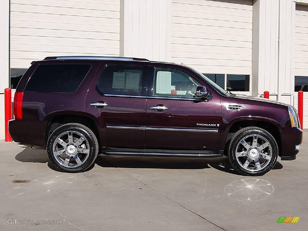 2009 black cherry cadillac escalade awd 23440774 photo 8 car color galleries. Black Bedroom Furniture Sets. Home Design Ideas