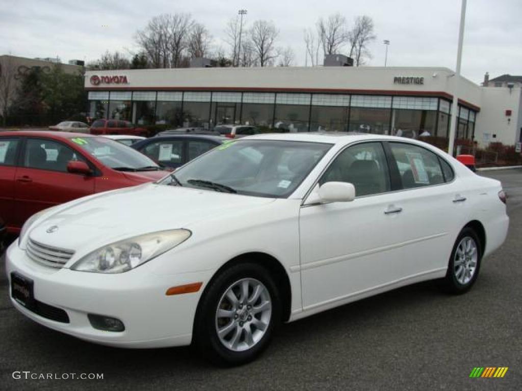 2003 Crystal White Lexus ES 300 #23451854 Photo #3 ...