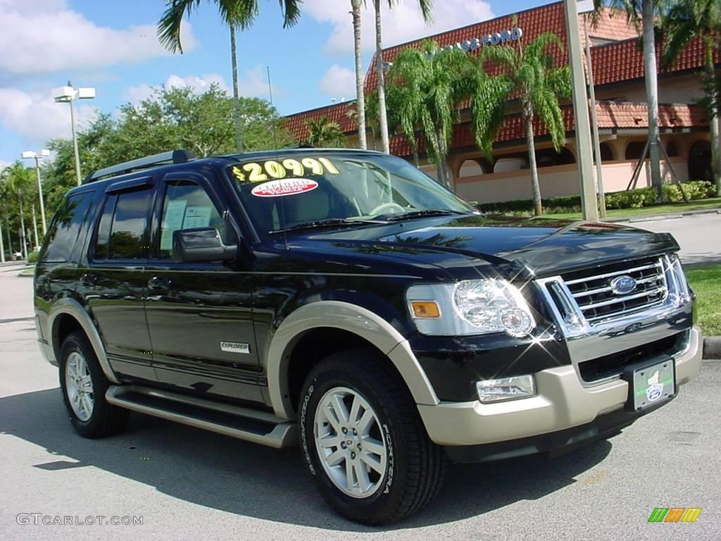 2006 Black Ford Explorer Eddie Bauer 23445053 Car Color Gal