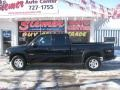 2002 Onyx Black Chevrolet Silverado 1500 LT Extended Cab 4x4  photo #1