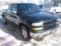 2002 Onyx Black Chevrolet Silverado 1500 LT Extended Cab 4x4  photo #2