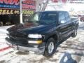 2002 Onyx Black Chevrolet Silverado 1500 LT Extended Cab 4x4  photo #3