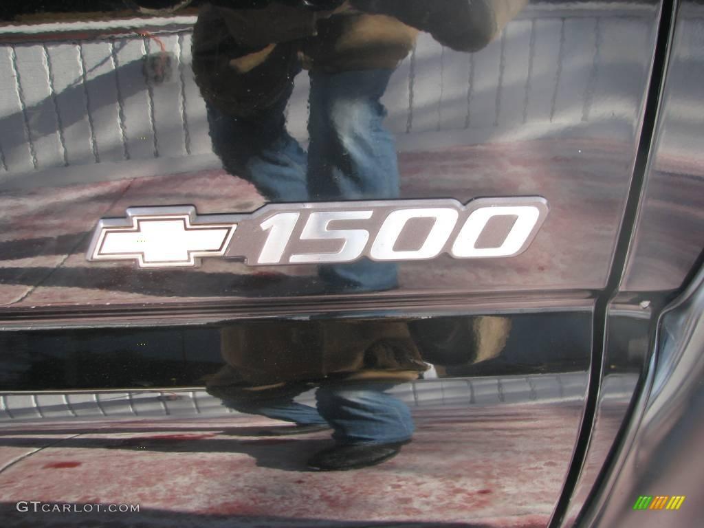2002 Silverado 1500 LT Extended Cab 4x4 - Onyx Black / Graphite Gray photo #17