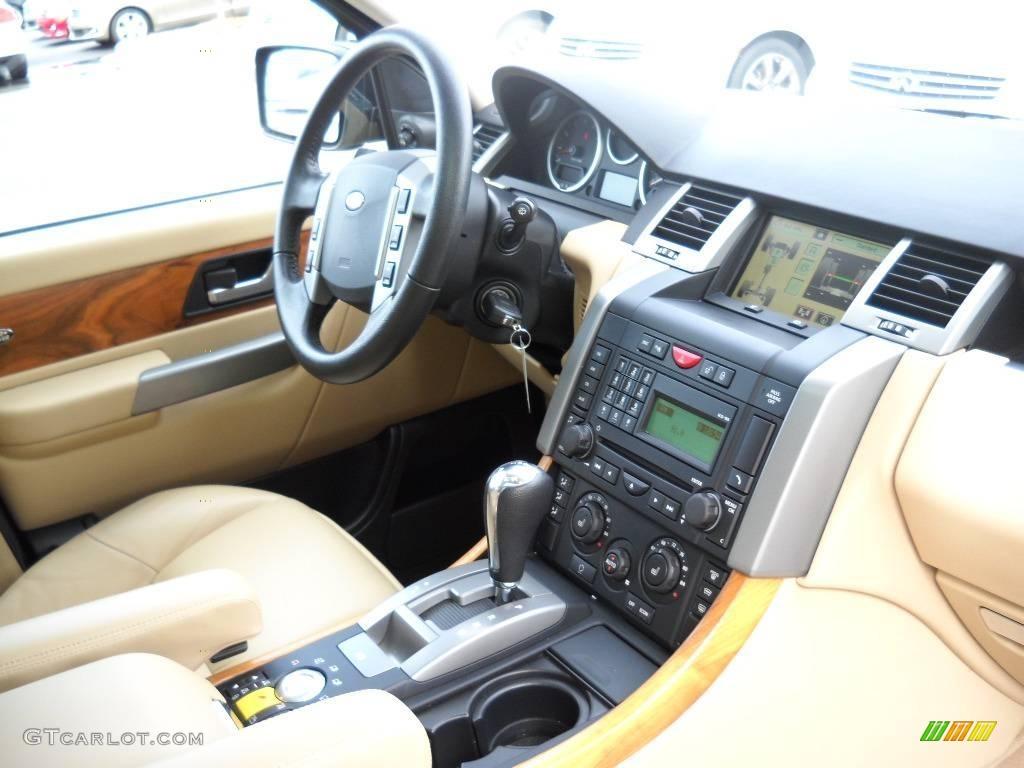 2008 santorini black land rover range rover sport - Range rover sport almond interior ...