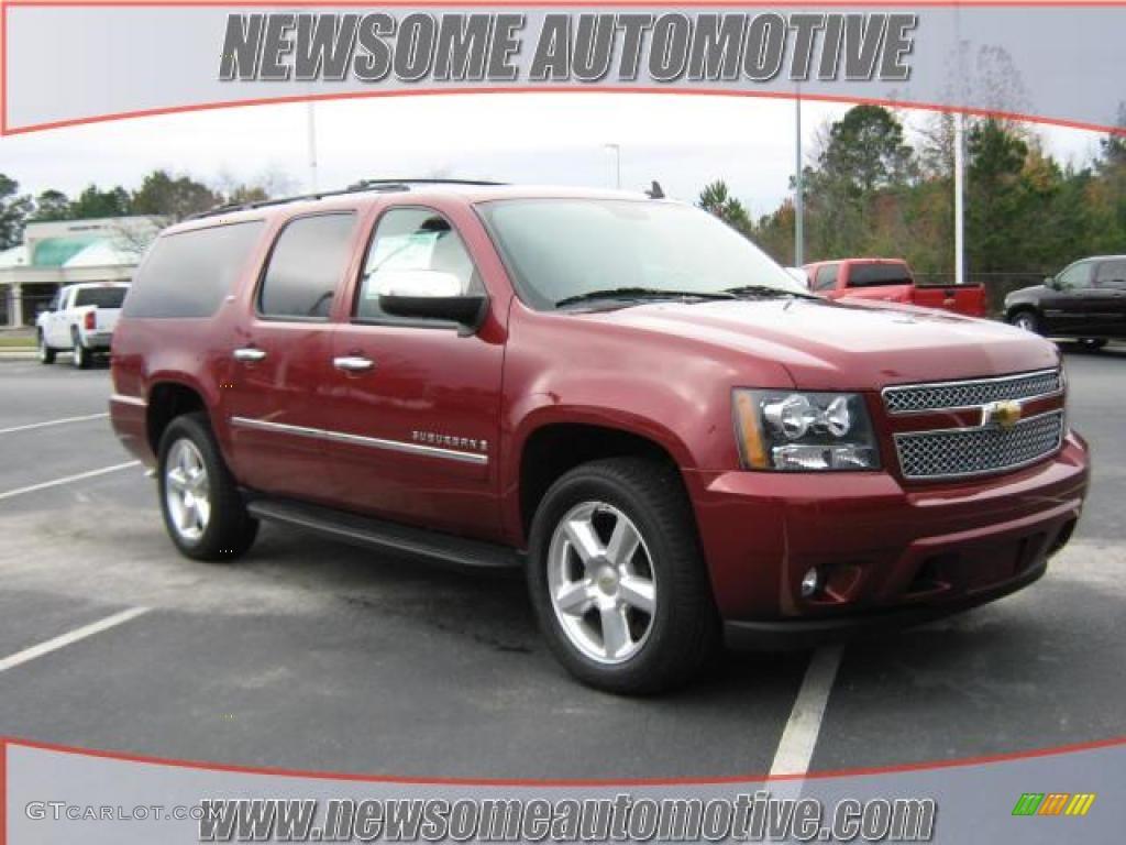 2009 Red Jewel Tintcoat Chevrolet Suburban LTZ #23533350 ...