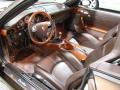 2008 Macadamia Metallic Porsche 911 Turbo Cabriolet  photo #12