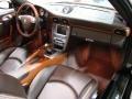 2008 Macadamia Metallic Porsche 911 Turbo Cabriolet  photo #17