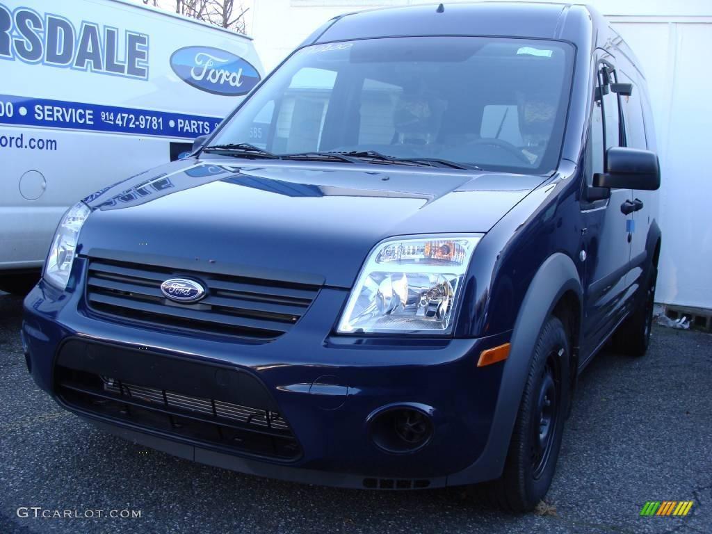2010 dark blue ford transit connect xlt passenger wagon 23569454 car color. Black Bedroom Furniture Sets. Home Design Ideas