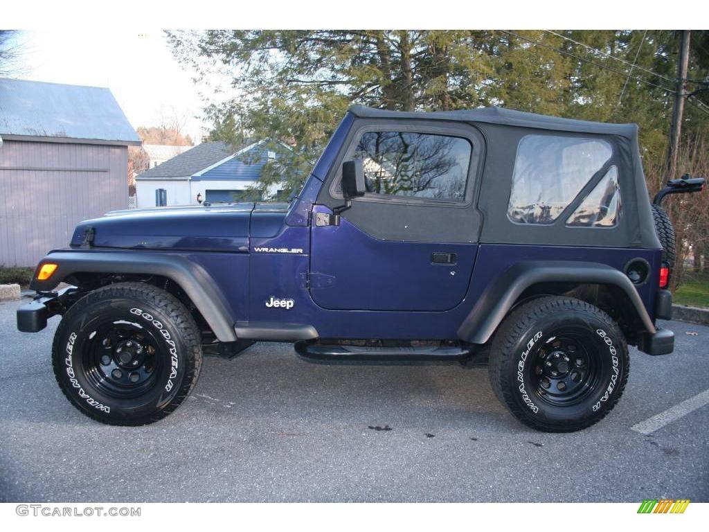 1999 Deep Amethyst Pearlcoat Jeep Wrangler SE 4x4 ...