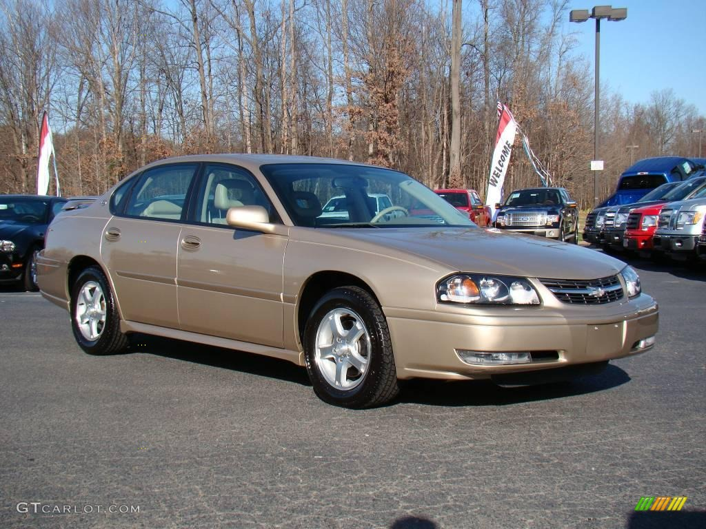 2005 sandstone metallic chevrolet impala ls 23520069. Black Bedroom Furniture Sets. Home Design Ideas