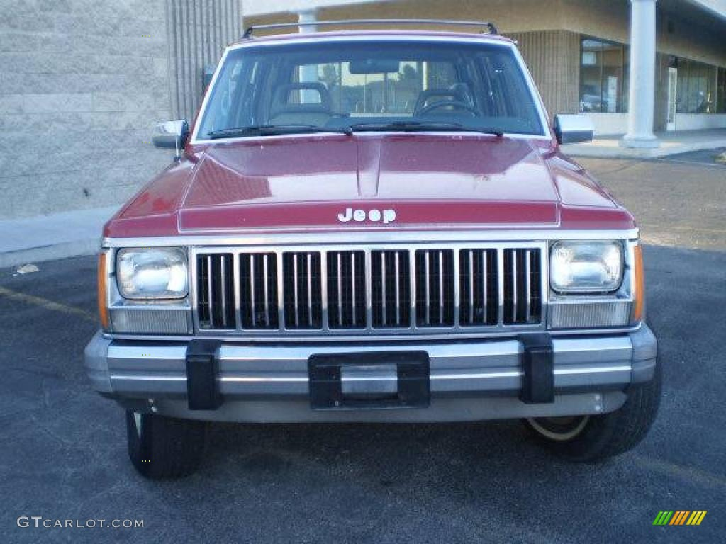 1990 colorado red jeep cherokee laredo 4x4 23570032 car color galleries. Black Bedroom Furniture Sets. Home Design Ideas