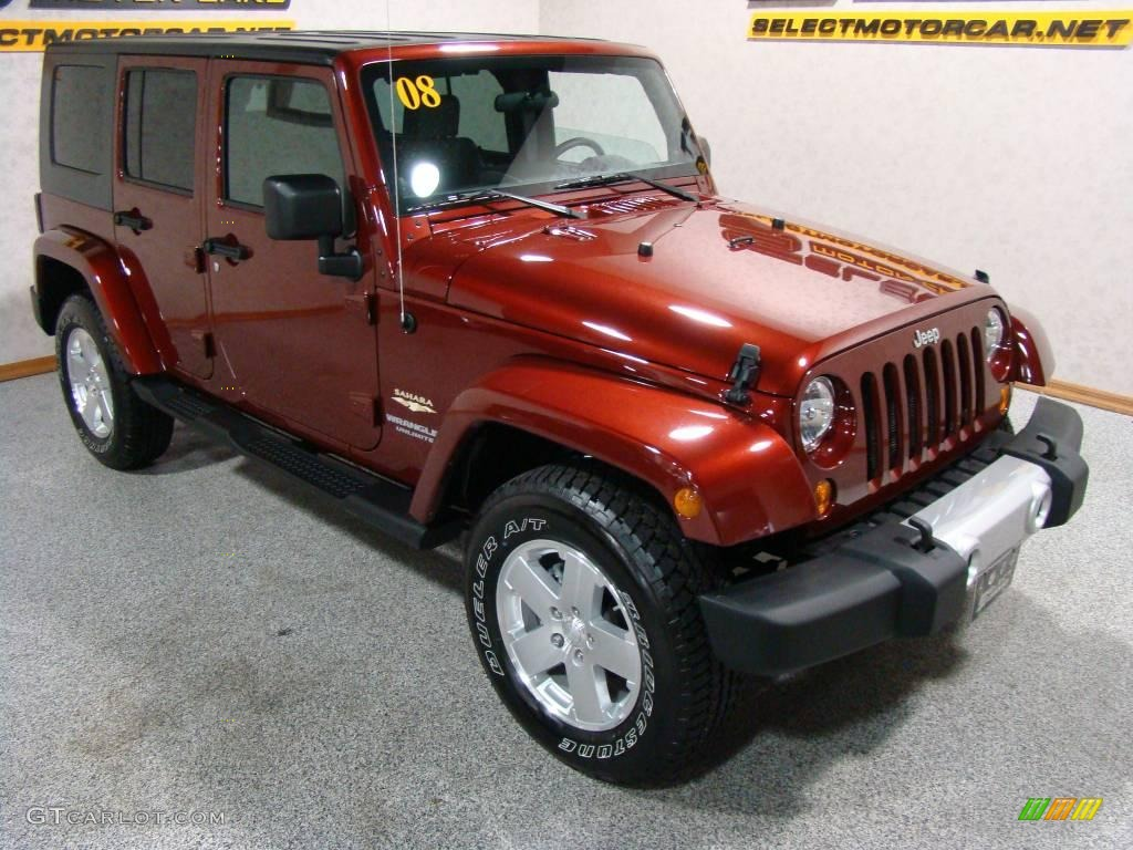 the gallery for red jeep wrangler sahara unlimited. Black Bedroom Furniture Sets. Home Design Ideas