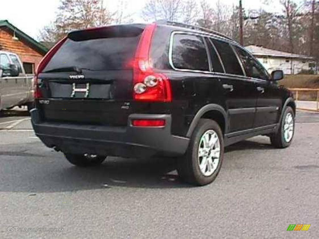 2005 black volvo xc90 t6 awd 23658863. Black Bedroom Furniture Sets. Home Design Ideas