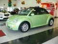 Cyber Green Metallic 2004 Volkswagen New Beetle GLS Convertible