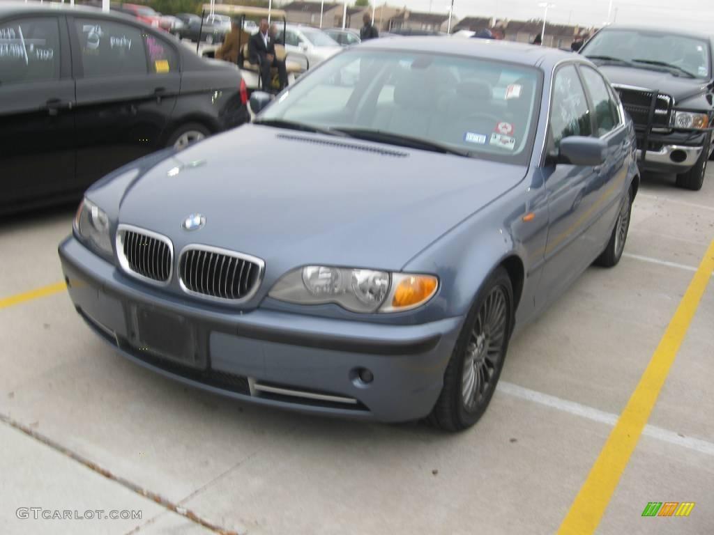 2002 Steel Blue Metallic Bmw 3 Series 330i Sedan 23655947