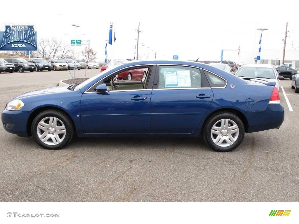 2006 laser blue metallic chevrolet impala lt 23639601. Black Bedroom Furniture Sets. Home Design Ideas
