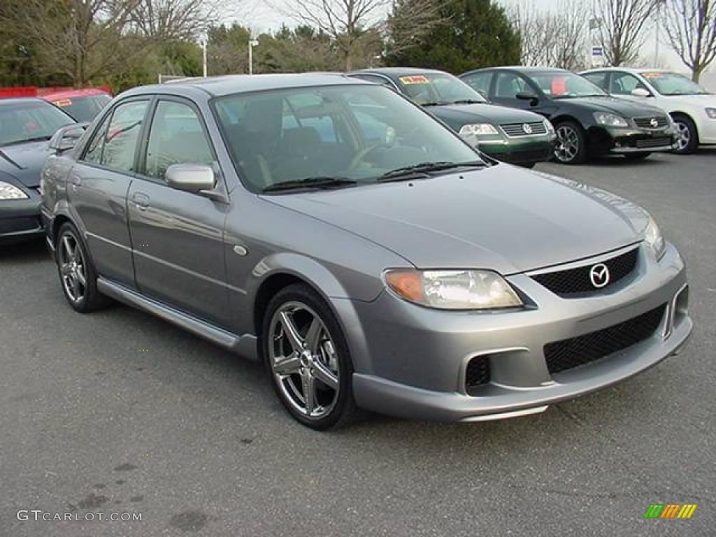 2003 sunlight silver metallic mazda protege mazdaspeed. Black Bedroom Furniture Sets. Home Design Ideas