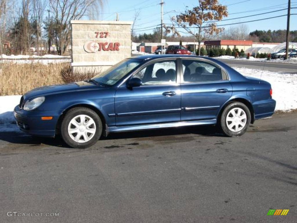 2003 ardor blue metallic hyundai sonata 23653849. Black Bedroom Furniture Sets. Home Design Ideas