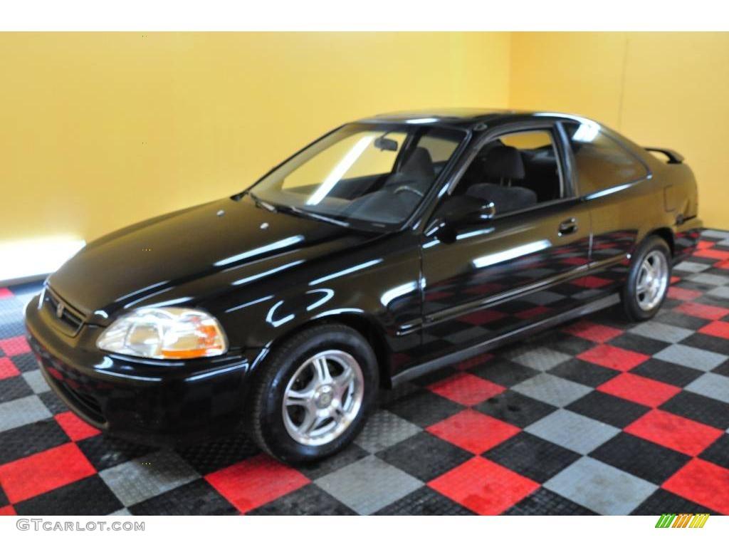 1996 granada black pearl metallic honda civic ex coupe 23655972 photo 3 car. Black Bedroom Furniture Sets. Home Design Ideas