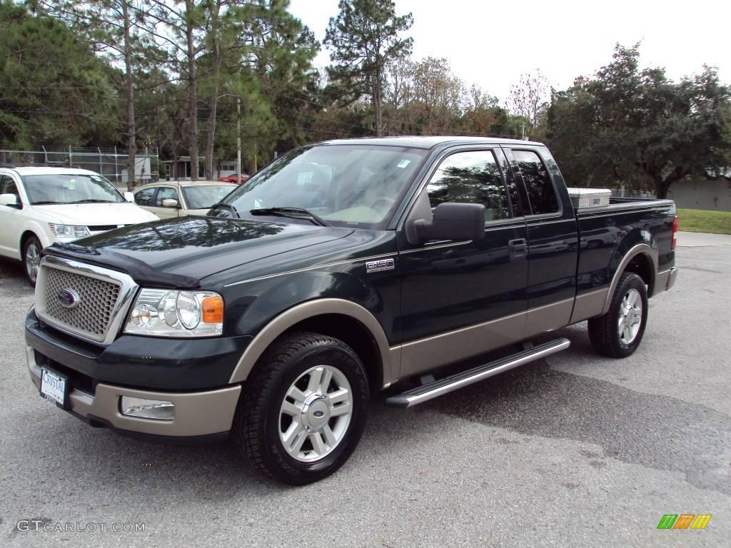 2004 aspen green metallic ford f150 lariat supercab. Black Bedroom Furniture Sets. Home Design Ideas