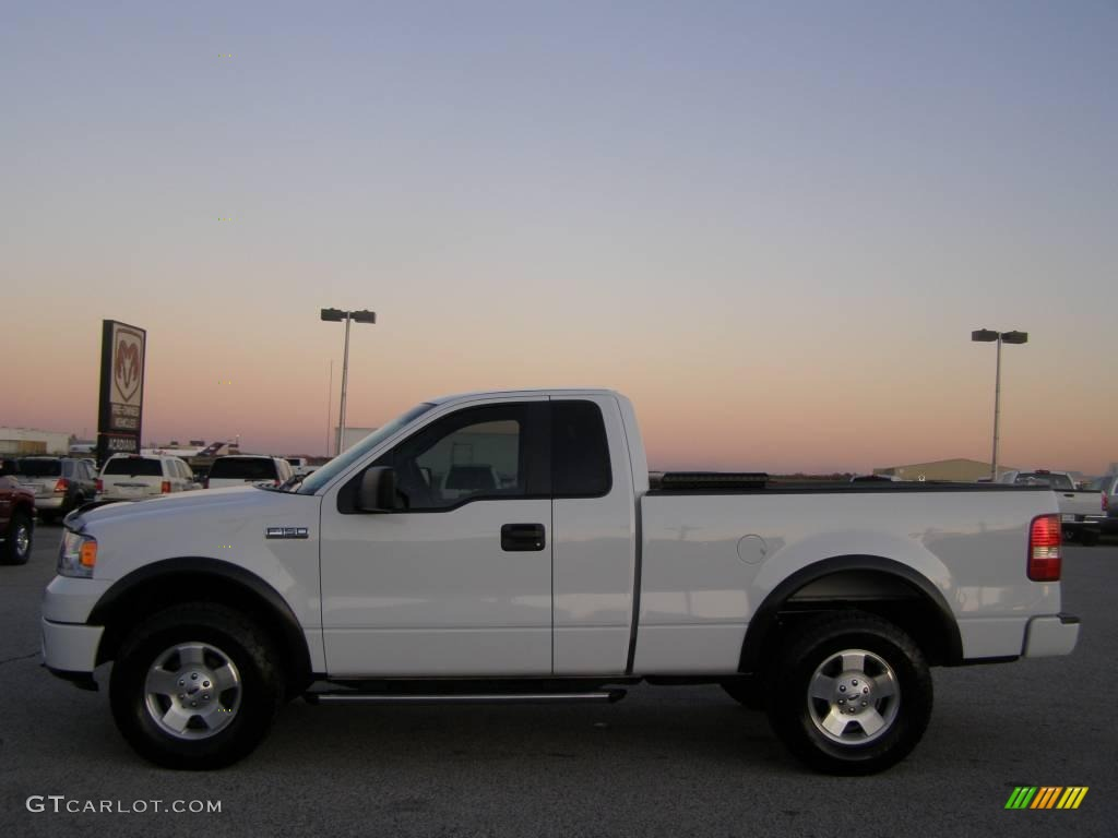 2007 oxford white ford f150 xlt regular cab 4x4 23720847 photo 6 car color. Black Bedroom Furniture Sets. Home Design Ideas