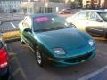 Medium Sea Green Metallic 1998 Pontiac Sunfire SE Convertible