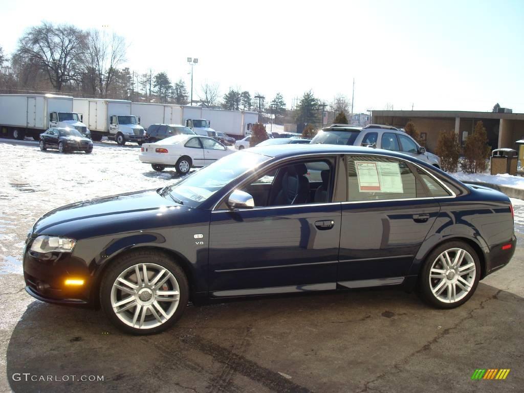 Deep Sea Blue Pearl Effect Audi S Quattro Sedan - 2007 audi s4