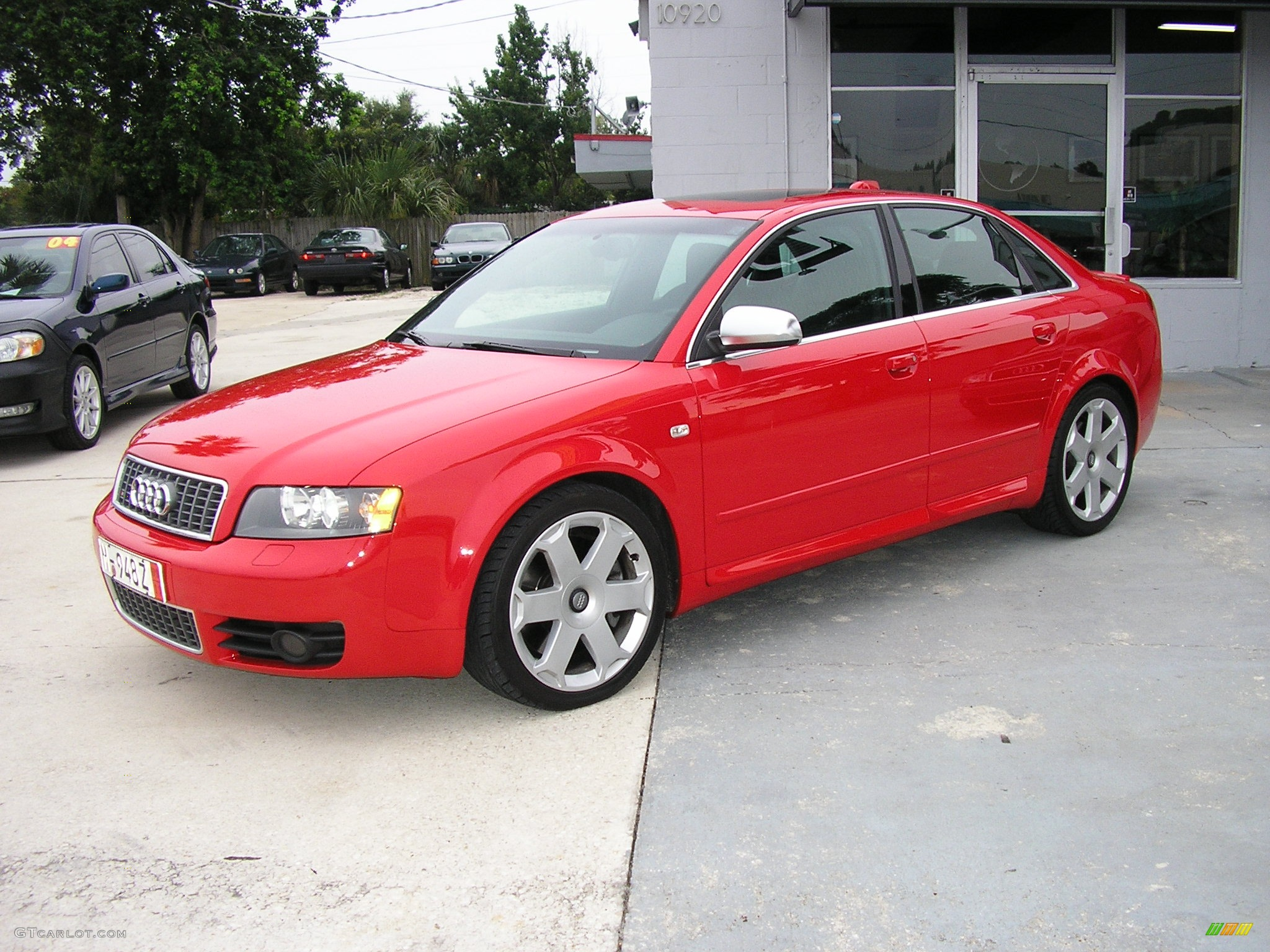 2004 brilliant red audi s4 4 2 quattro sedan 237790 car color galleries. Black Bedroom Furniture Sets. Home Design Ideas