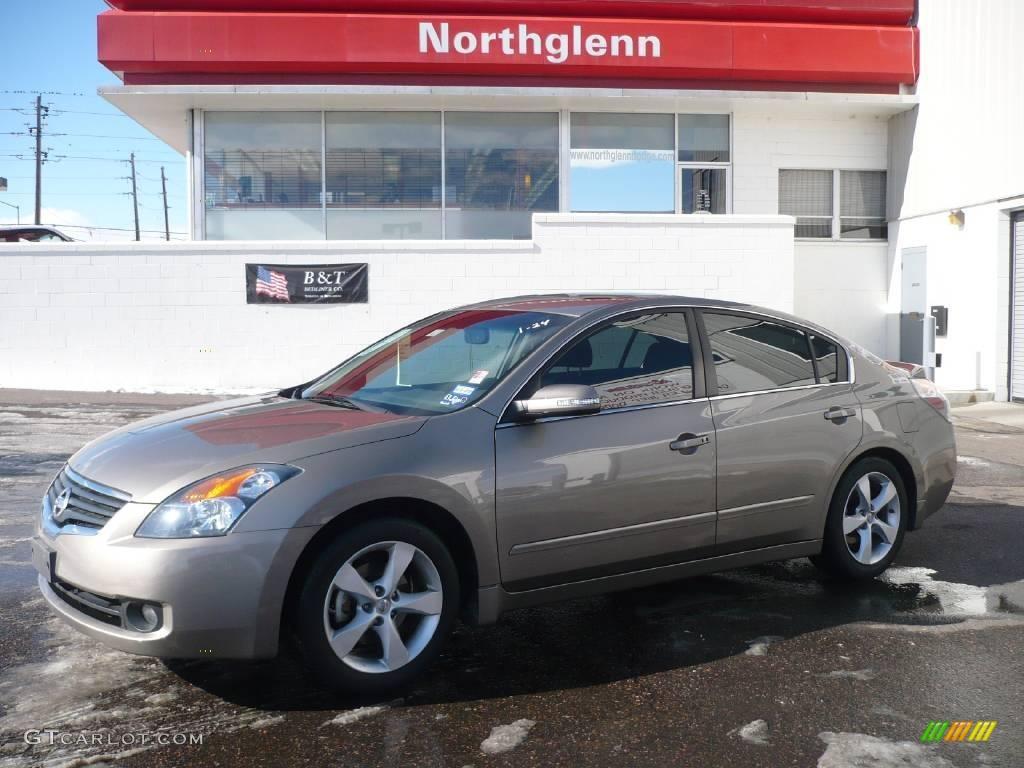 2007 Precision Gray Metallic Nissan Altima 3 5 Se 2369823 Gtcarlot Com Car Color Galleries