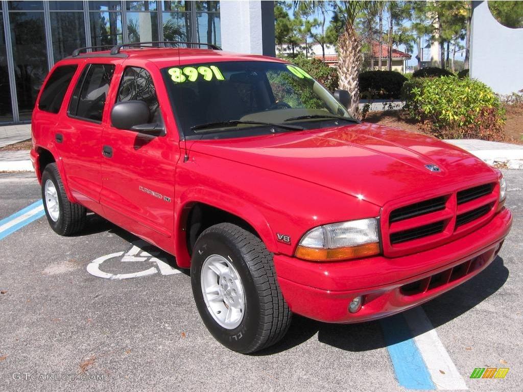 2000 flame red dodge durango slt 2366802 car color galleries. Black Bedroom Furniture Sets. Home Design Ideas