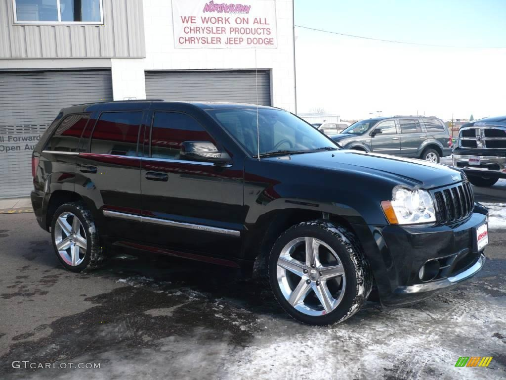 2007 Black Jeep Grand Cherokee Srt8 4x4 2369820 Photo 3 Gtcarlot Com Car Color Galleries