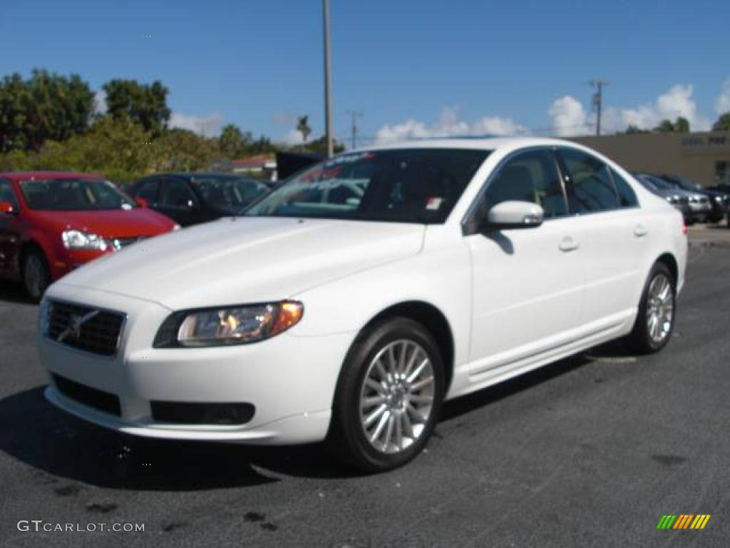 2007 ice white volvo s80 3 2 2366827 car. Black Bedroom Furniture Sets. Home Design Ideas