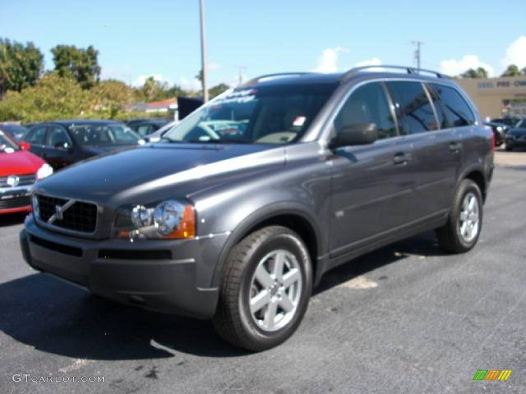 2006 titanium gray metallic volvo xc90 2 5t 2366836 car color galleries. Black Bedroom Furniture Sets. Home Design Ideas