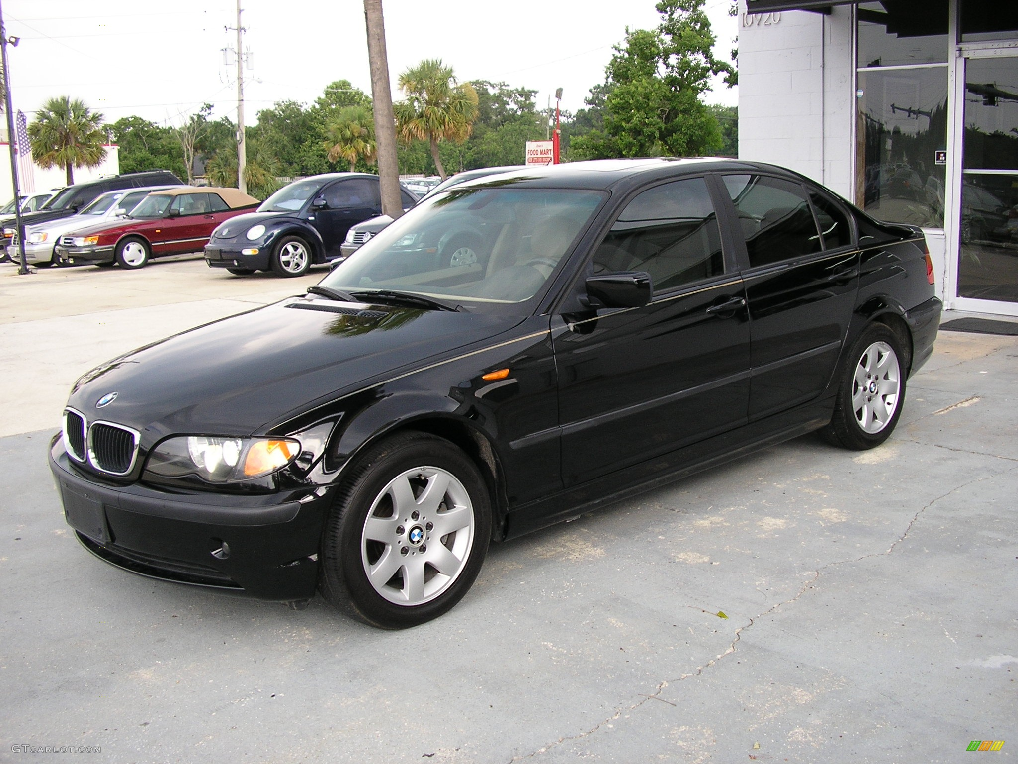 Jet Black BMW 3 Series