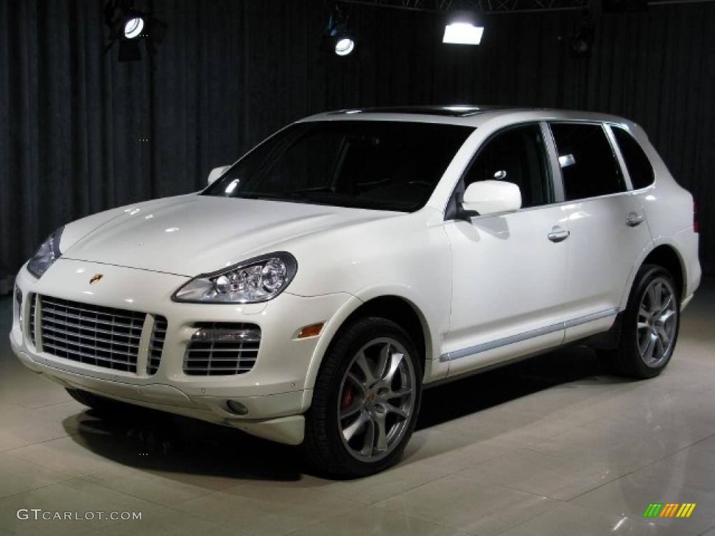 2008 sand white porsche cayenne turbo 23862523 car color galleries. Black Bedroom Furniture Sets. Home Design Ideas
