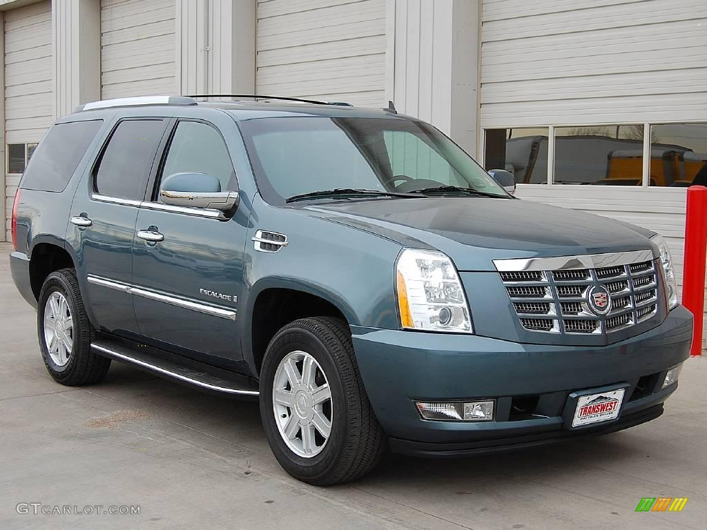 2009 stealth gray cadillac escalade awd 23839880 car color galleries. Black Bedroom Furniture Sets. Home Design Ideas