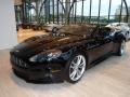 Jet Black 2010 Aston Martin DBS Volante