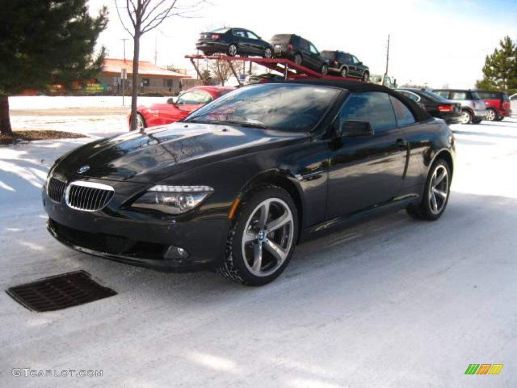 2010 Black Sapphire Metallic Bmw 6 Series 650i Convertible