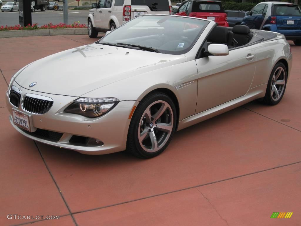 2008 Mineral Silver Metallic BMW 6 Series 650i Convertible #23906597 ...