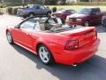 2000 Performance Red Ford Mustang GT Convertible  photo #2