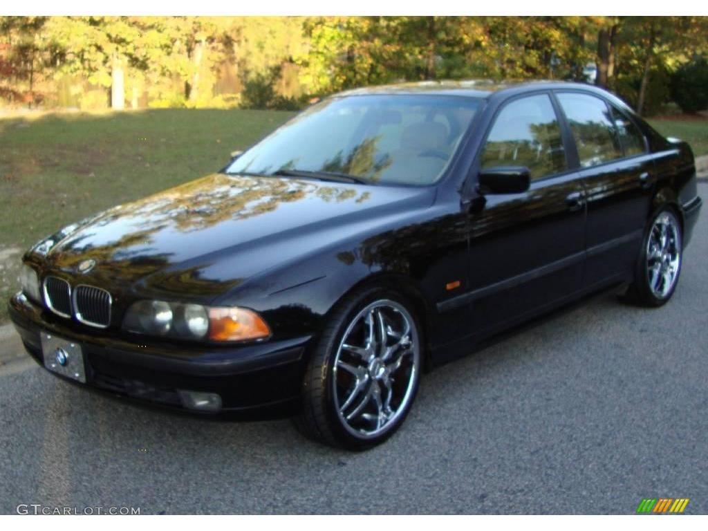 1998 5 series 540i sedan black ii beige photo 1