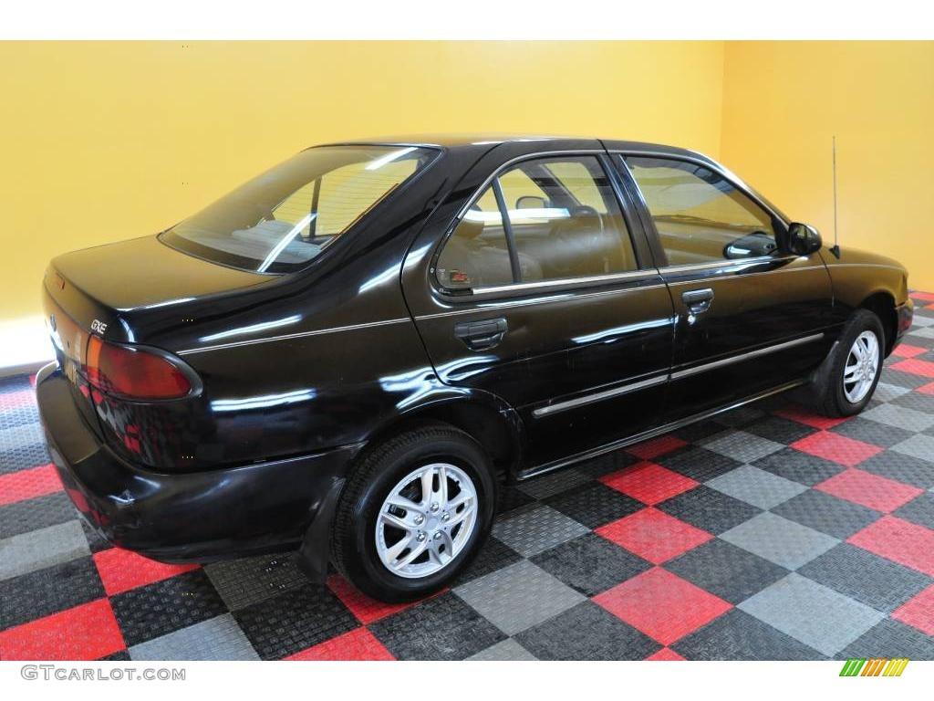 1996 Super Black Nissan Sentra Gxe 23950293 Photo 6 Gtcarlot Com Car Color Galleries