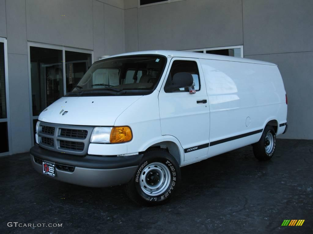 2002 bright white dodge ram van 1500 cargo 23936330 photo 21 car color galleries. Black Bedroom Furniture Sets. Home Design Ideas