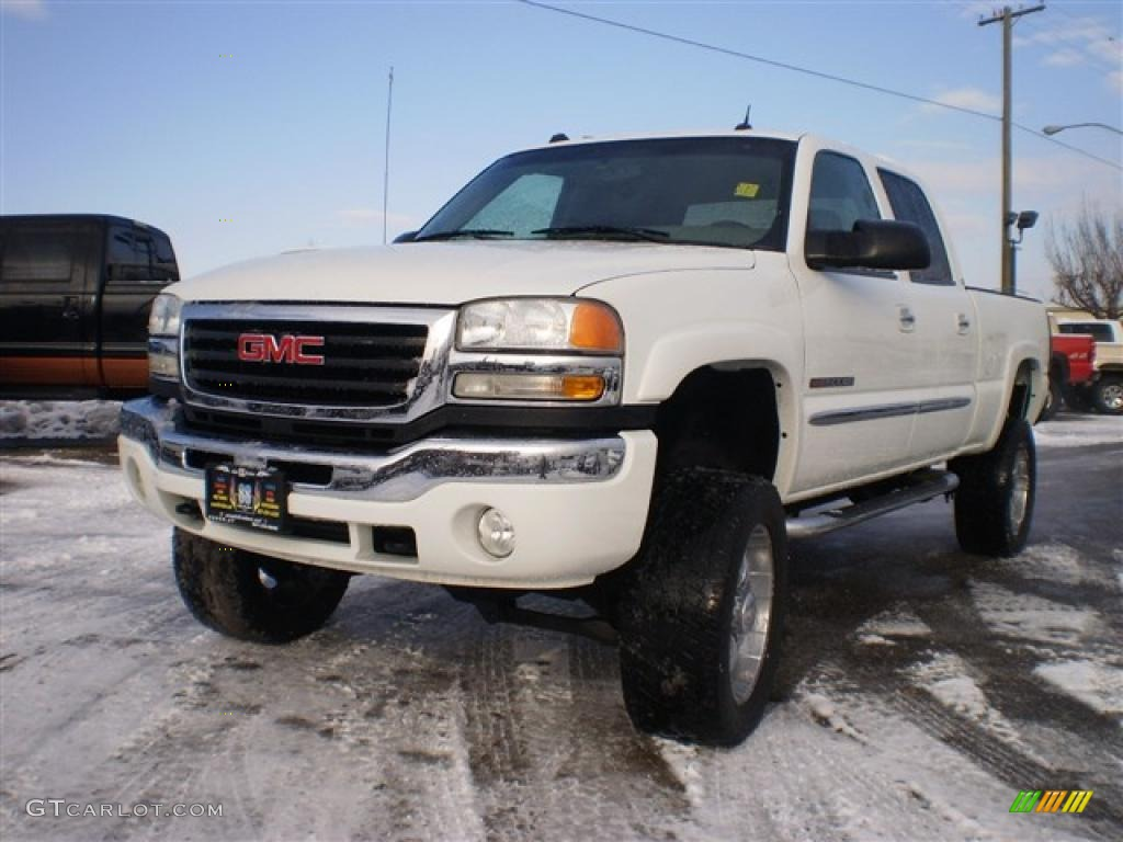 Summit white gmc sierra 2500hd
