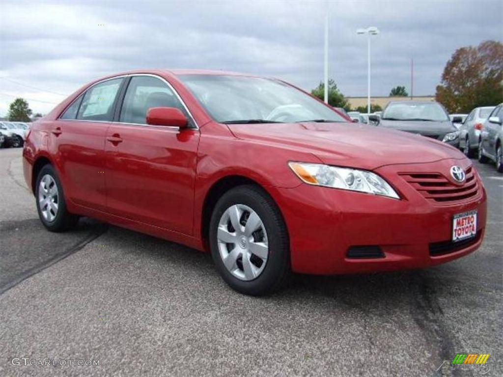 Toyota Camry Le 2011 2009 Barcelona Red Metallic Toyota Camry LE #2399113 ...
