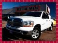 2006 Bright White Dodge Ram 1500 SLT Quad Cab 4x4  photo #1