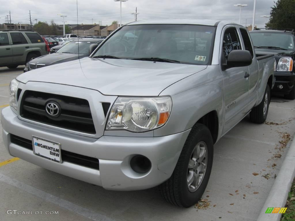2005 silver streak mica toyota tacoma access cab 24140957. Black Bedroom Furniture Sets. Home Design Ideas