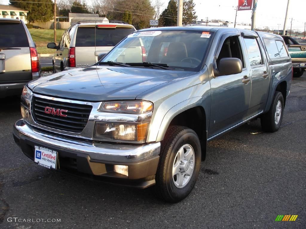 2006 light stellar blue gmc canyon sle crew cab 4x4 24133723 car color galleries. Black Bedroom Furniture Sets. Home Design Ideas
